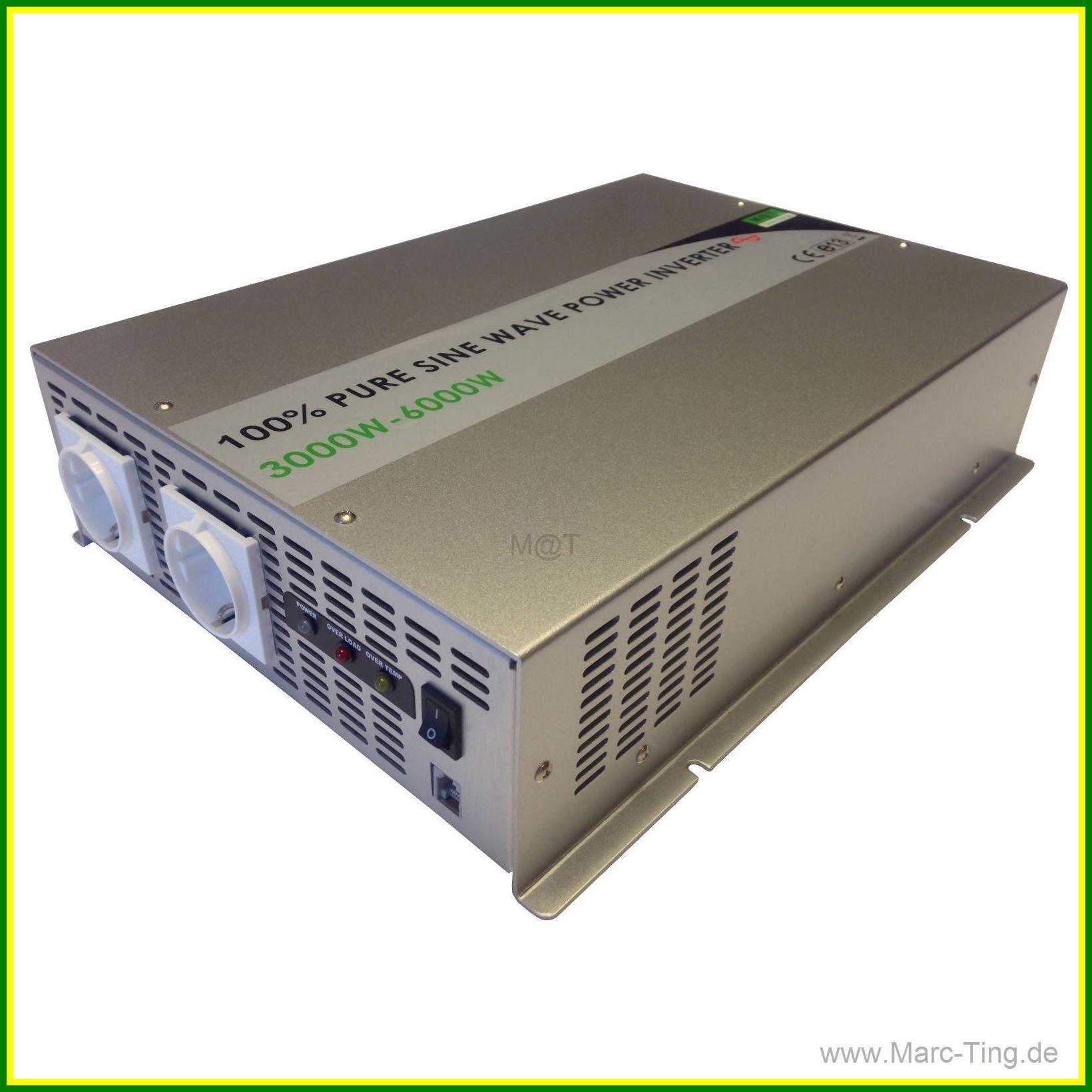 Marc@Ting Green Energy - 3000W 12V REINER SINUS WECHSELRICHTER