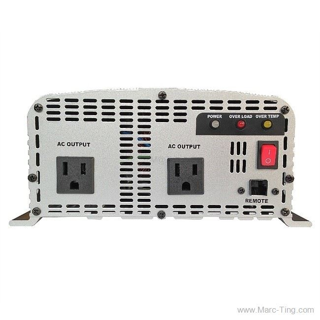 M@T GoGreen - 2000W 12V PURE SINE POWER INVERTER WITH +ATS +UPS