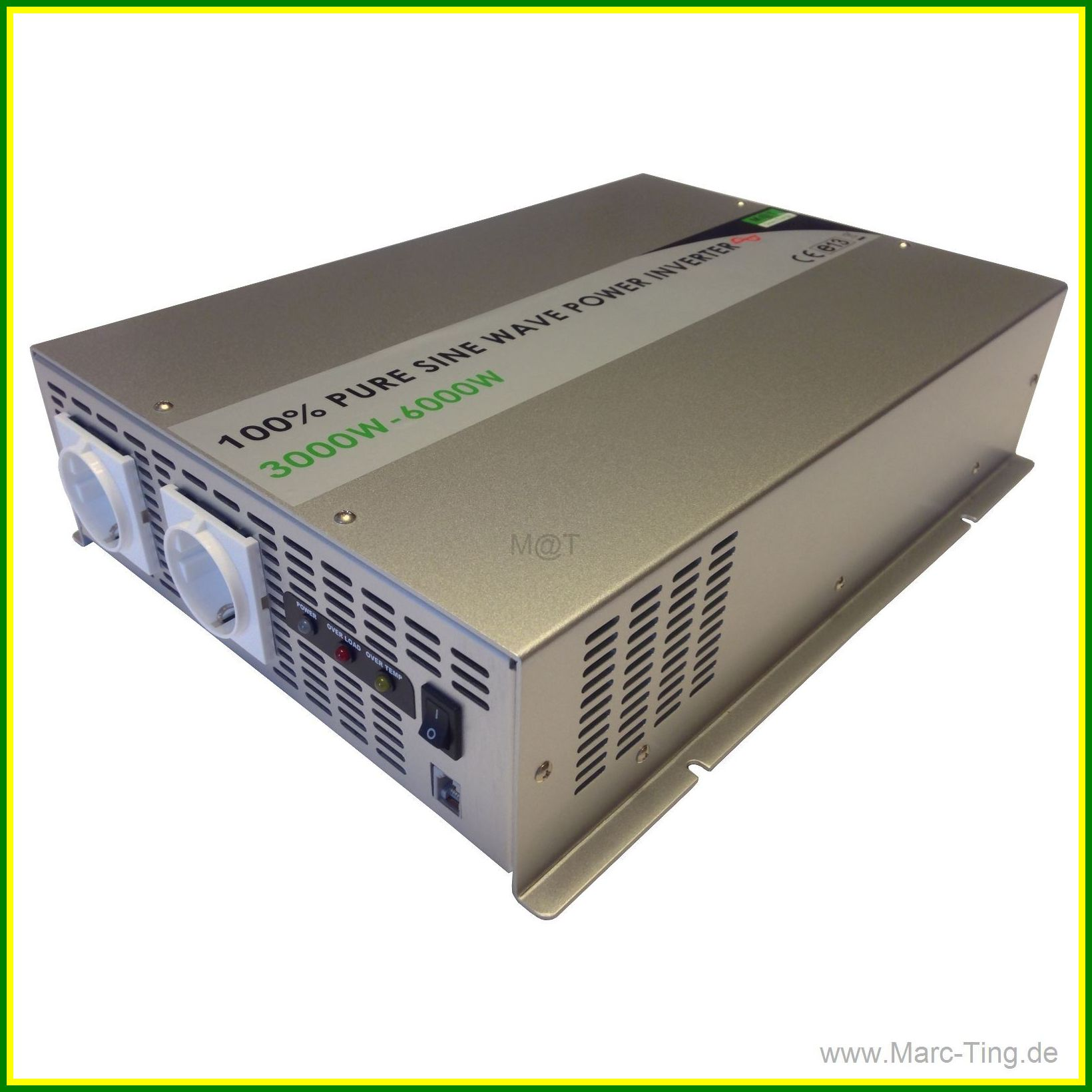 Mt Gogreen 3000w 12v Pure Sine Power Inverter With Ats Ups